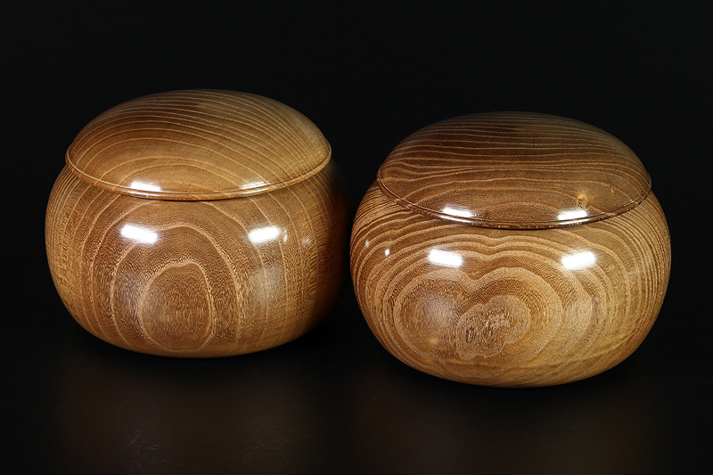 Honkuwa Go Bowls For -32 stones, L -KWG-32-M02