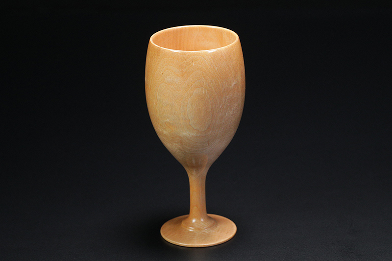 Wine glasses made from Kaede (maple wood) -NSWKA-002