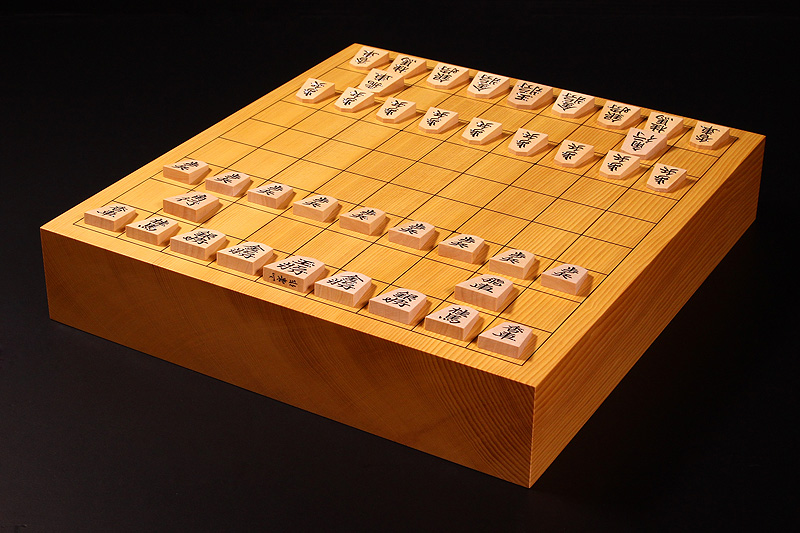 """Shogi Board Spring Fair!"" Shogi Board・Pieces Set -1702-B1"