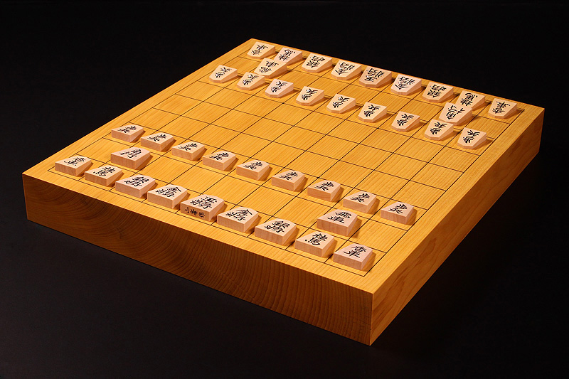 """Shogi Board Spring Fair!"" Shogi Board・Pieces Set -1702-B2"