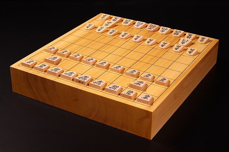 """Shogi Board Spring Fair!"" Shogi Board・Pieces Set -1702-B3"
