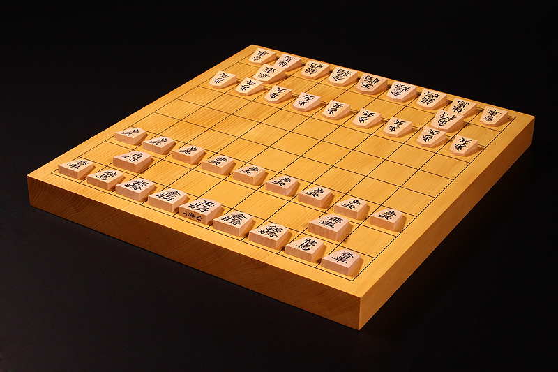 """Shogi Board Spring Fair!"" Shogi Board・Pieces Set -1702-B4"