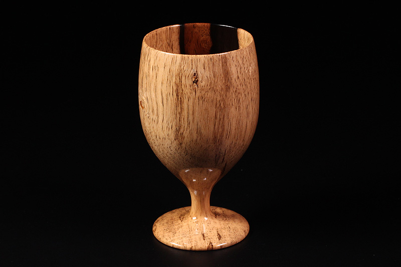 Wine glasses made from Kuro-kaki (NSWKG-002)