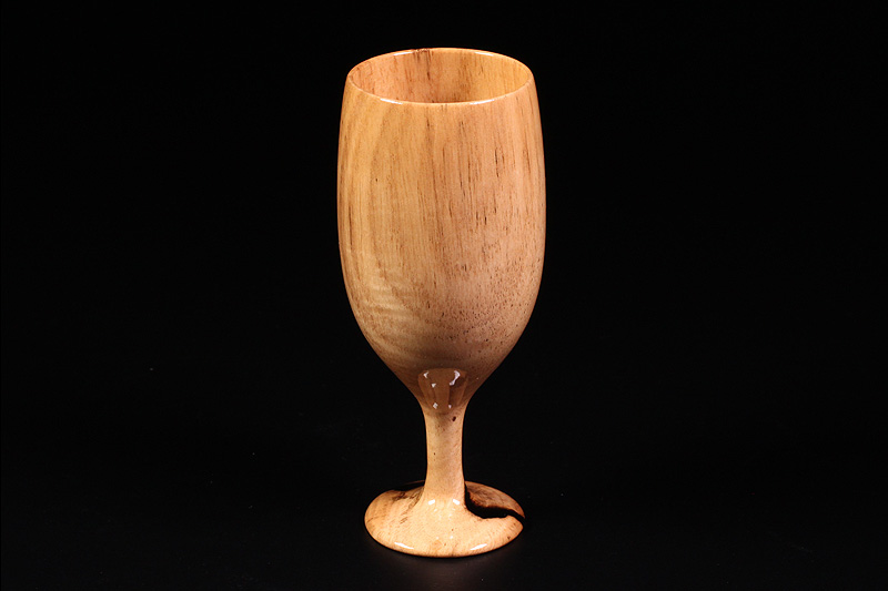 Wine glasses made from Kuro-kaki (NSWKG-005)