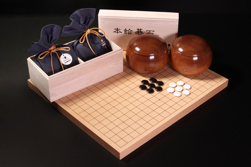 BLUE LABEL size22, Sakura Go Bowls, New Kaya Table Board10