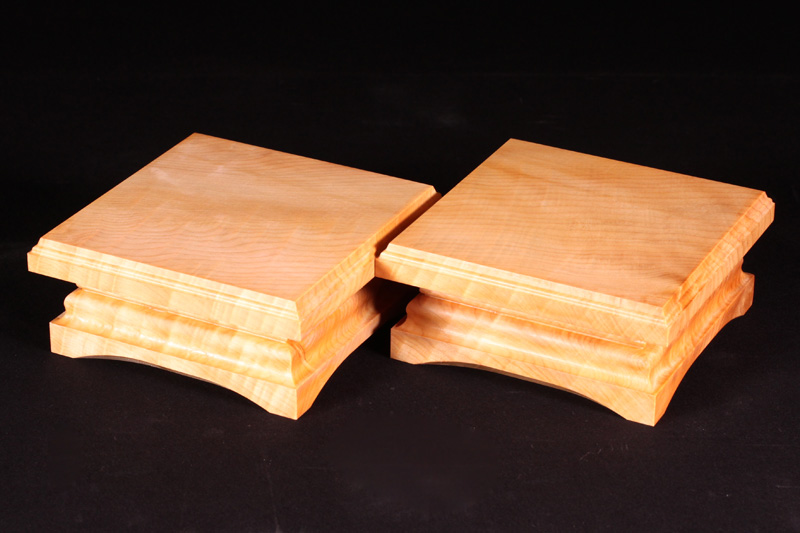 For Table Shogi Board Piece stand, Hinoki (2) Off-spec