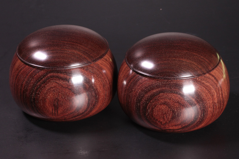 Rose wood Go Bowls For -35 stones XL