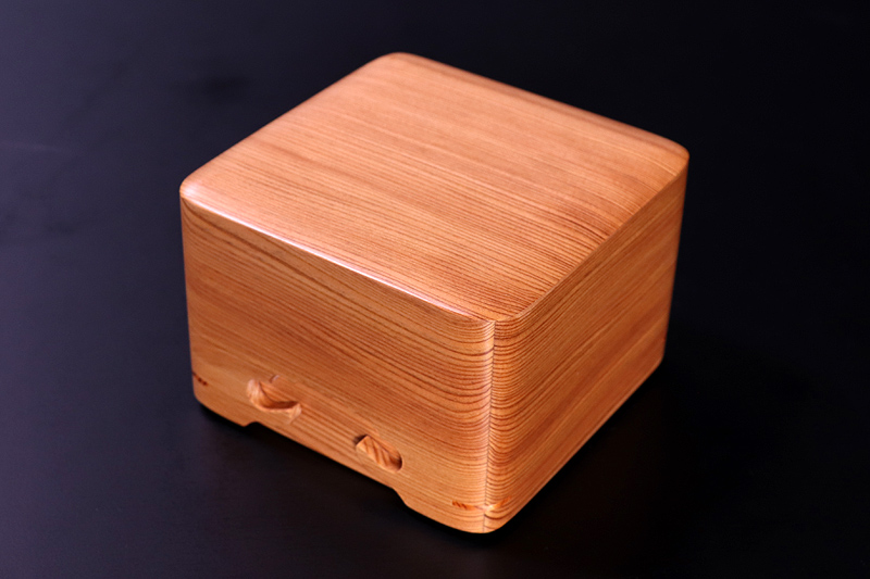 Shogi Pieces Box, Yakusugi *KMB-YSGS-008