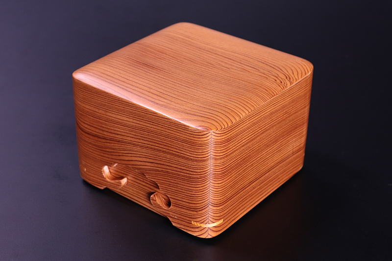 Shogi Pieces Box, Yakusugi *KMB-YSGS-009