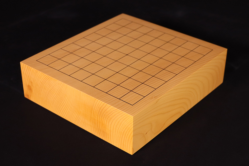 Hyuga  Kaya Table Go Board No.76728 with 9*9 ro