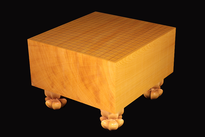 Chinese Hon-kaya Go Board with Legs No.74015