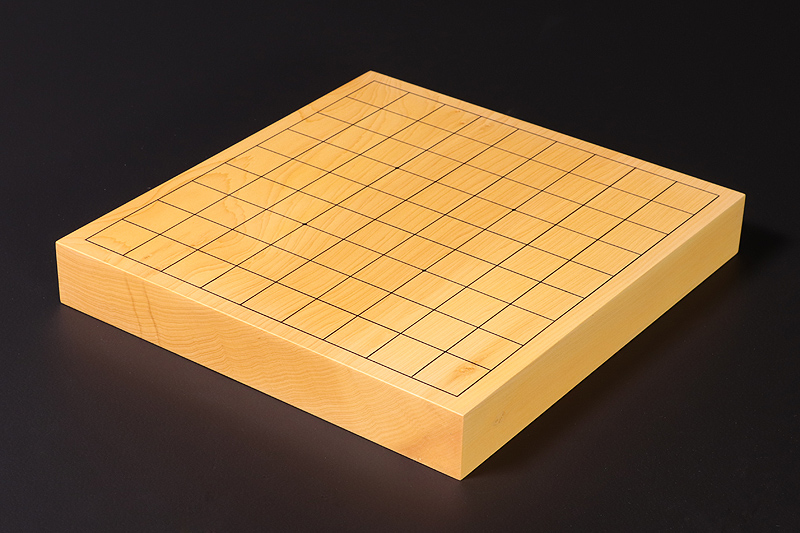 Hyuga kaya Table Shogi Board No.89003 *miniature Shogi Piece included