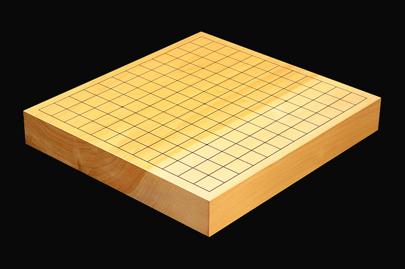 Gingko wood Table Go Board No.76751 with 13/9 ro