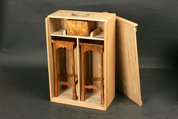 Piece stand Storage box