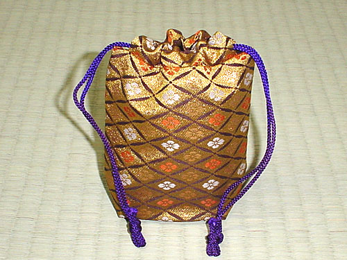 Bag for Shogi pieces