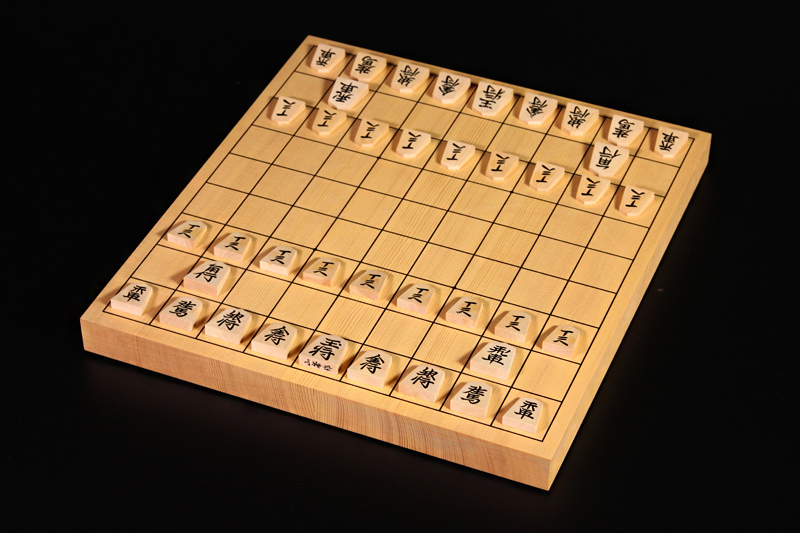 New Kaya Table Shogi Board10, Tsuge Usually carved