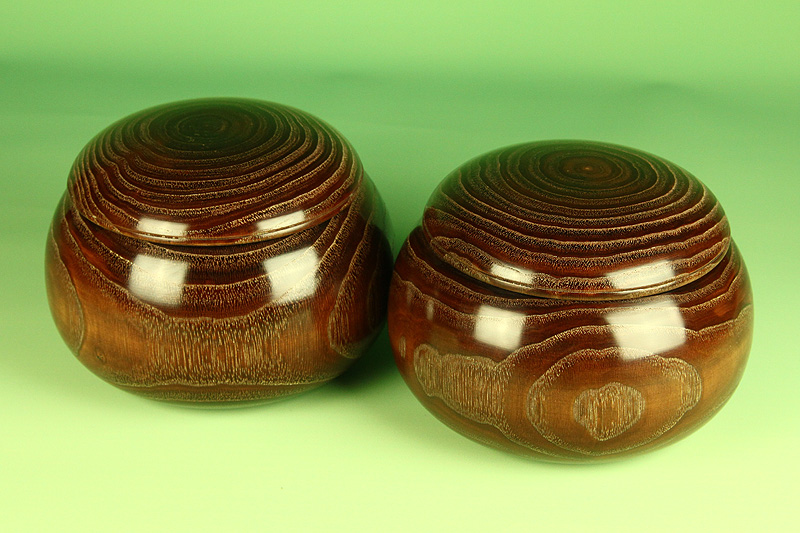 Kuri [chestnut] Go Bowls For 30-35 stones, XL