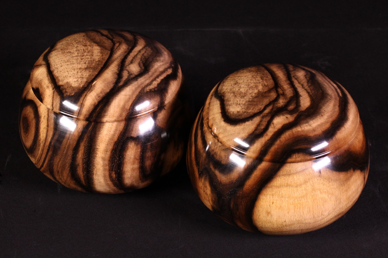 Kurokaki (Black Persimmon) Bowls For -35 stones, XL